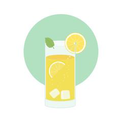 Zitrone Cocktail