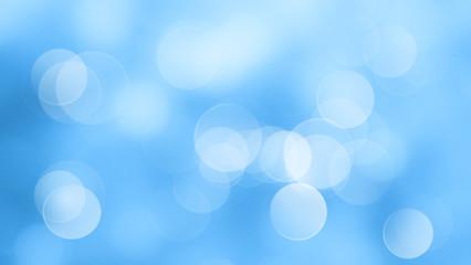 Wall Mural - Blue background blur