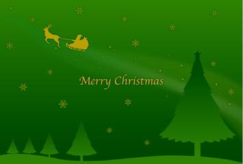 グリーティングカード メリークリスマス
