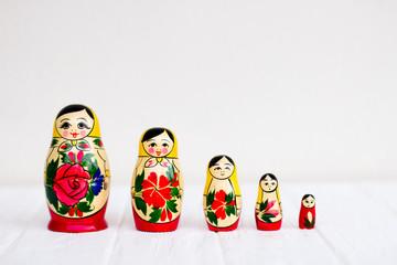Russian national nesting dolls