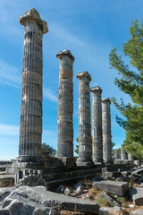 Priene, ancient city of Ionia about 0 km north of the Menderes (Maeander) River and 16 km inland from the Aegean Sea, in southwestern Turkey.