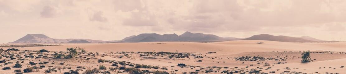 Fototapeta Parque Natural de Corralejo, Fuerteventura, Spanien