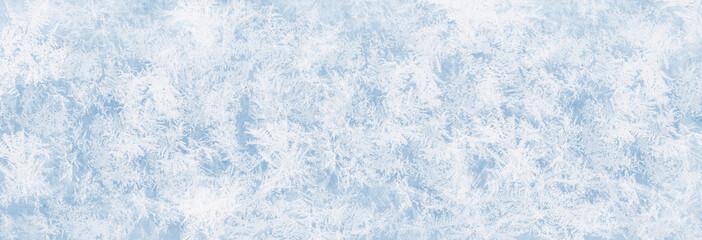Textur blaues Eis, Eisfläche, Winter Hintergrund für Werbeflächen