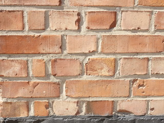 a brick wall for backgrounds