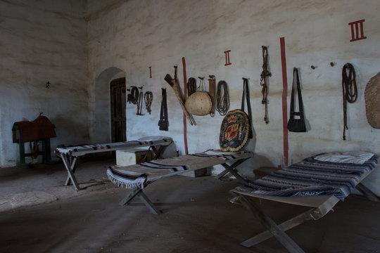 Ancient Spanish Barracks