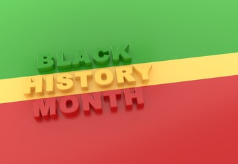 Black History Month - Copy space