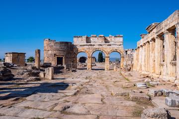 Antique ruins, city gate