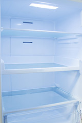 inside the kitchen refrigerator, appliances