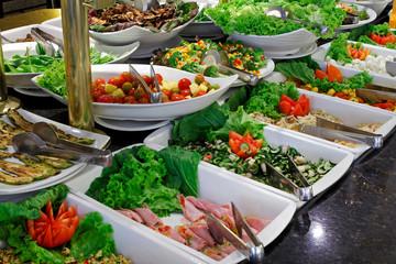 Salad self service restaurant