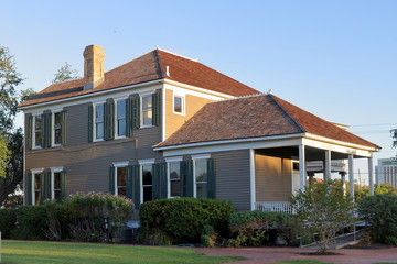 An old house at Heritage Park, Corpus Christi, Texas