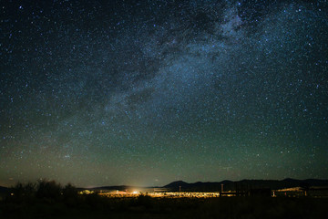 California Star-filled Sky with Milky Way