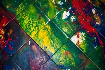 Splatter Painting.