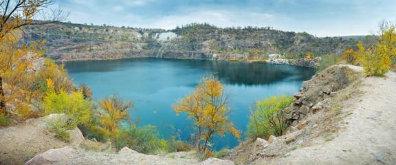 great radon blue lake