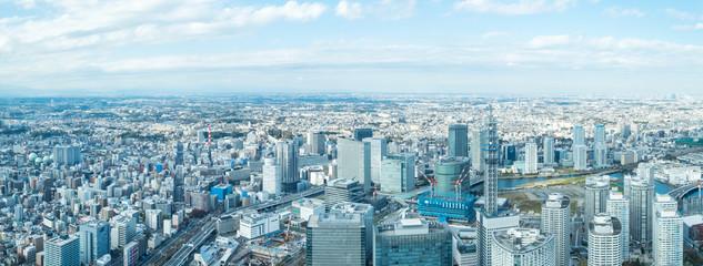 In de dag Lichtblauw 横浜風景