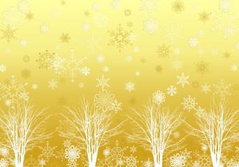 背景素材 雪景色 02