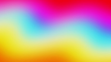 Abstract blurred gradient background in bright colors. Colorful smooth illustration