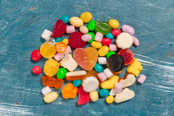 Colorful Candies mixed