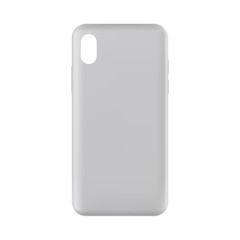 Phone case mockup - front view. Vector illustration