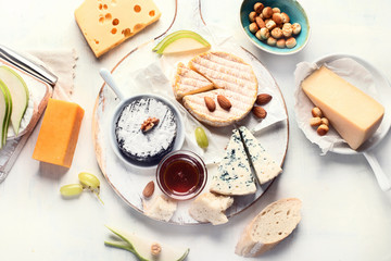 Wall Mural - Assorted cheeses