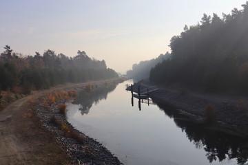 Sornoer Kanal im Lausitzer Seenland