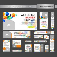 set web banner design
