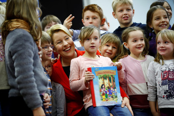 """German Family Minister Franziska Giffey participates in the """"29th Fairytale Days"""" in Berlin"""