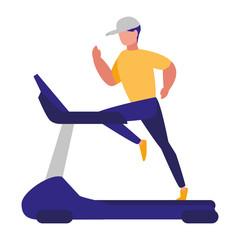 Treadmill machine design