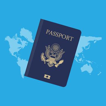 Passport word map