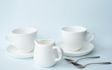 Pair of tea cups for serving