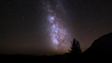Voie Lactée au col d'Izoard