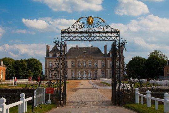 Haras du pin France 10 15 2018. Historic Haras National du Pin in Normandy France