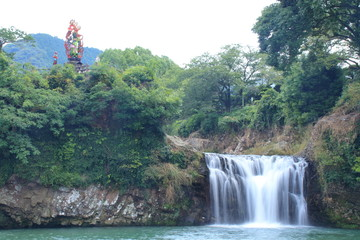 轟の滝 佐賀県嬉野市 日本