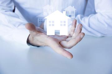 mano, casa, progettare, progetto casa