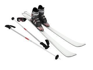 White Ski