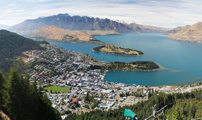 Panorama Queenstown Neuseeland