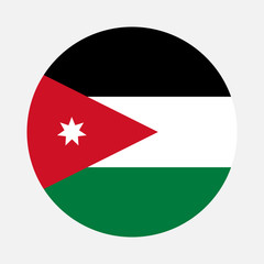 Jordan flag circle