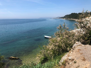 Coast line in Croatia