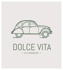automobile, rétro, vintage, ancienne