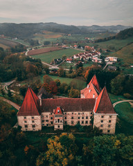 Castle Spielfeld from Above