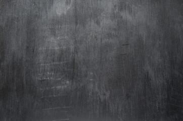 Empty black chalk board texture. Mockup background