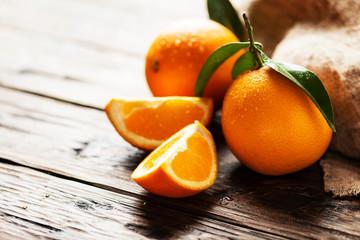 Fresh Italian oranges Wall mural