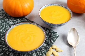 Pumpkin soup.