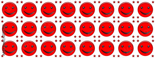 Smile Rosso Su Sfondo Bianco Stock Photo And Royalty Free Images On