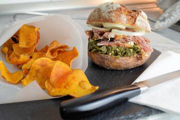 Grünkohl Burger