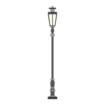 Streetlight antique vintage
