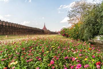 palais royal de Mandalay Myanansankyaw Myanmar Birmanie