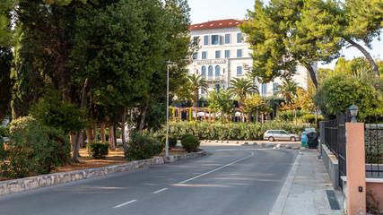 Split, Croatia streets