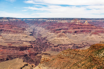 The Grand Canyon in Arizona South Rim