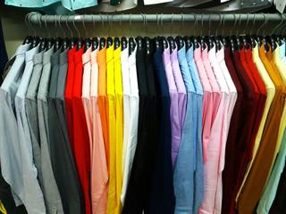 เสื้อผ้าหลากสี