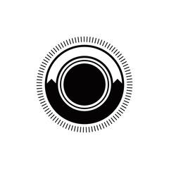 vintage badge retro blank labels logo